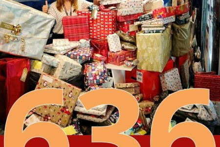 <b>World Trade Center Gibraltar, 636 Smiles this year…</b>The Gift is in Giving
