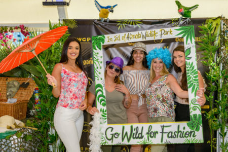 <b>Go wild for fashion raises over £1,600</b><br> for Alameda Wildlife Park